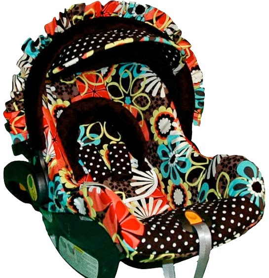 Infant car seat replacement covers image