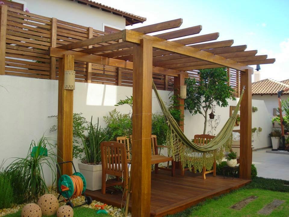 Construindo minha casa clean decora o da rea externa for Jardines redondos pequenos