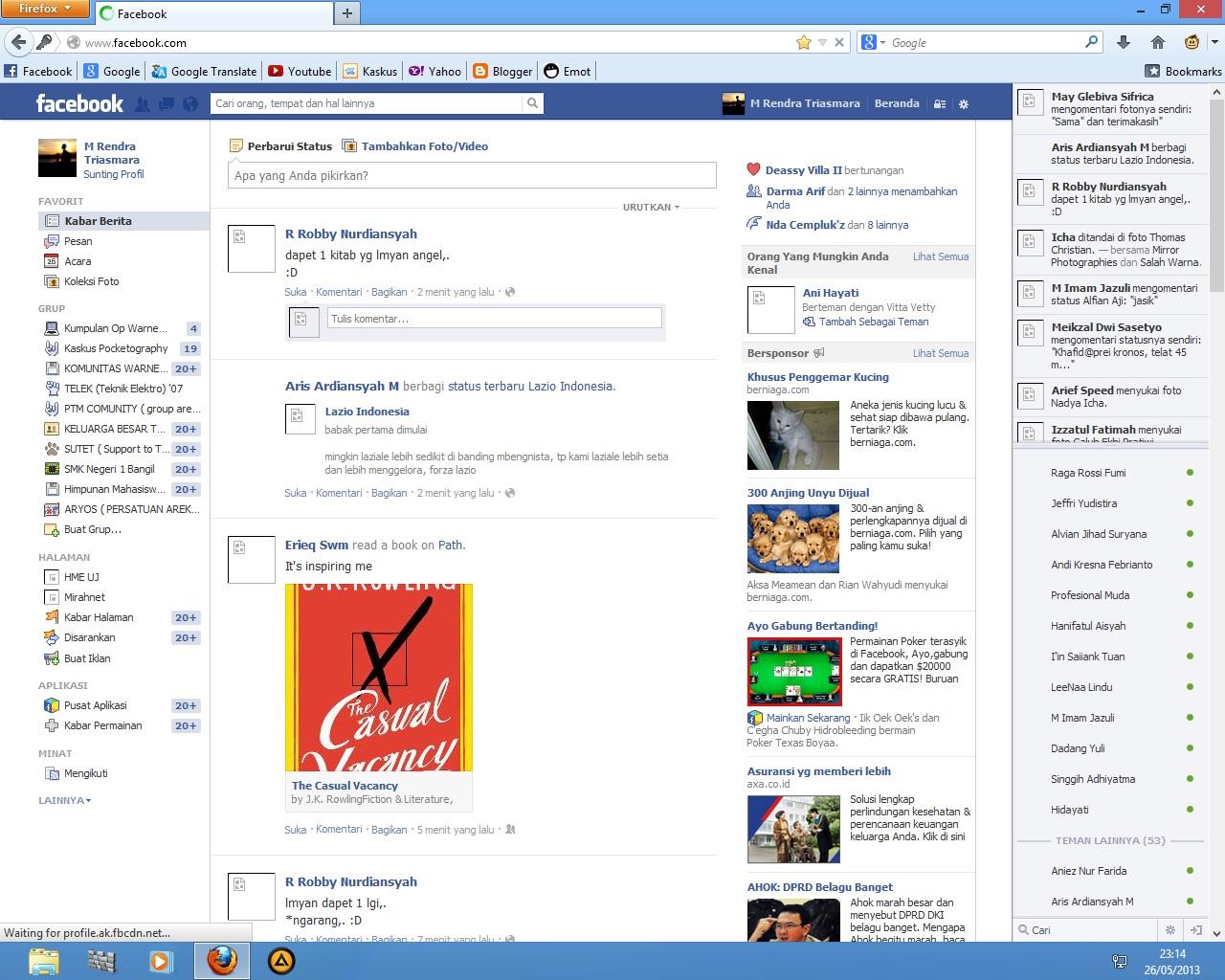 Browser Tidak Bisa Buka Email Dan Gambar Di Facebook