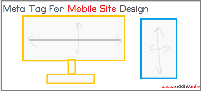 viewport meta tag for mobile website design
