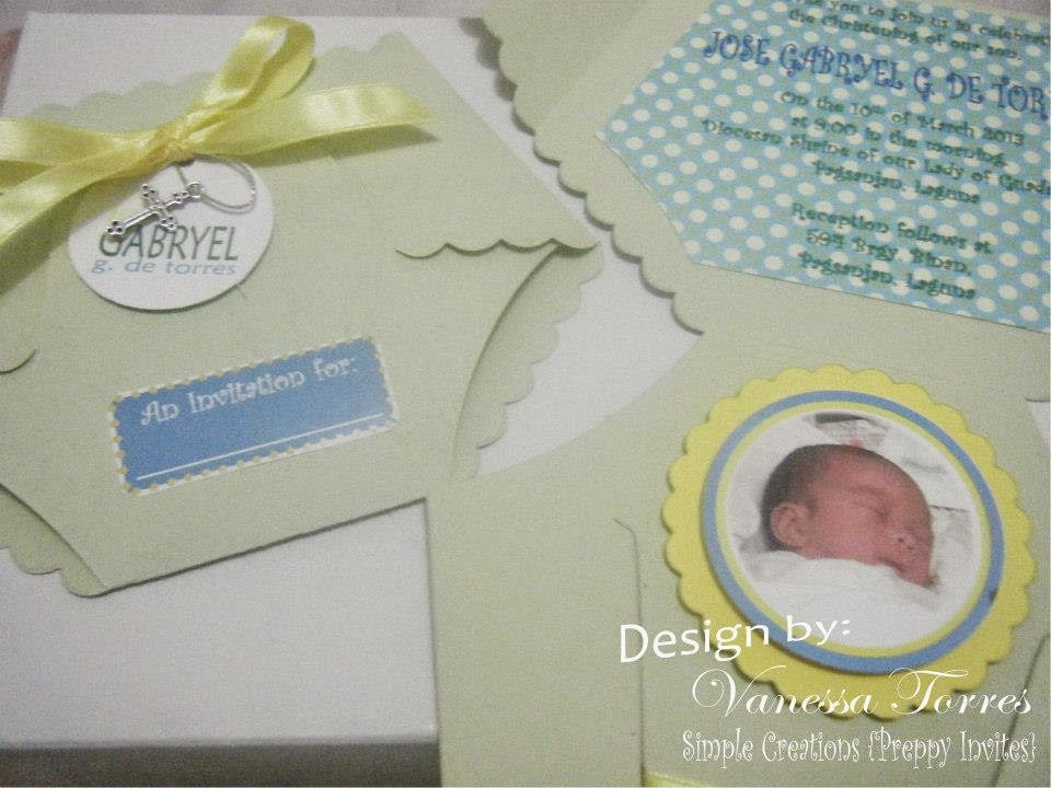 Diaper Invitation, Diaper Invites