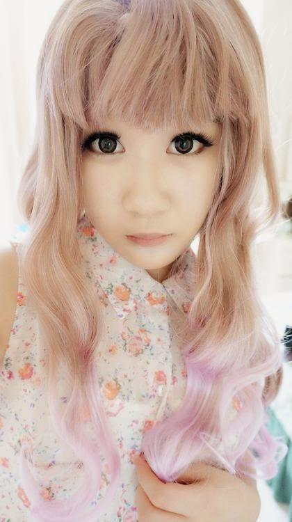 Lolita Wig AC: Lavender & Champagne Blend