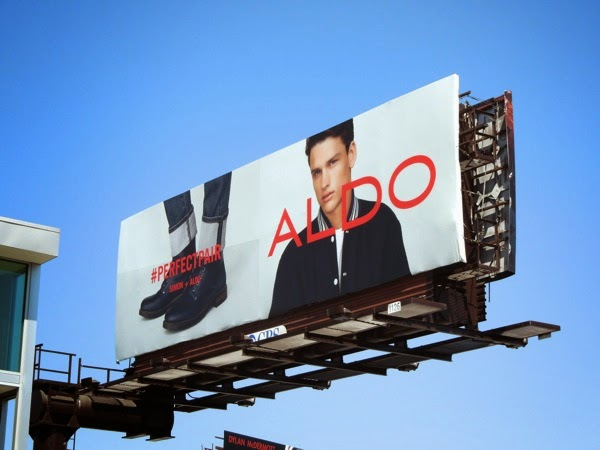 Aldo Shoes Perfect pair Simon billboard