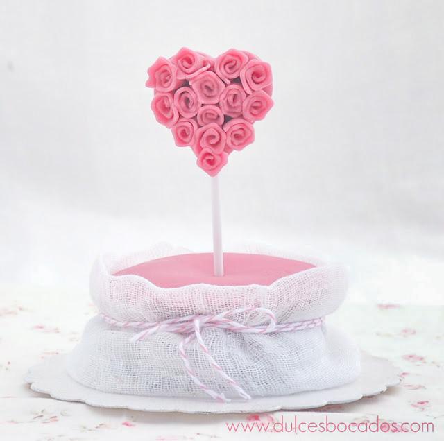 Cupcake de frambuesa - San Valentin - Dulces bocados