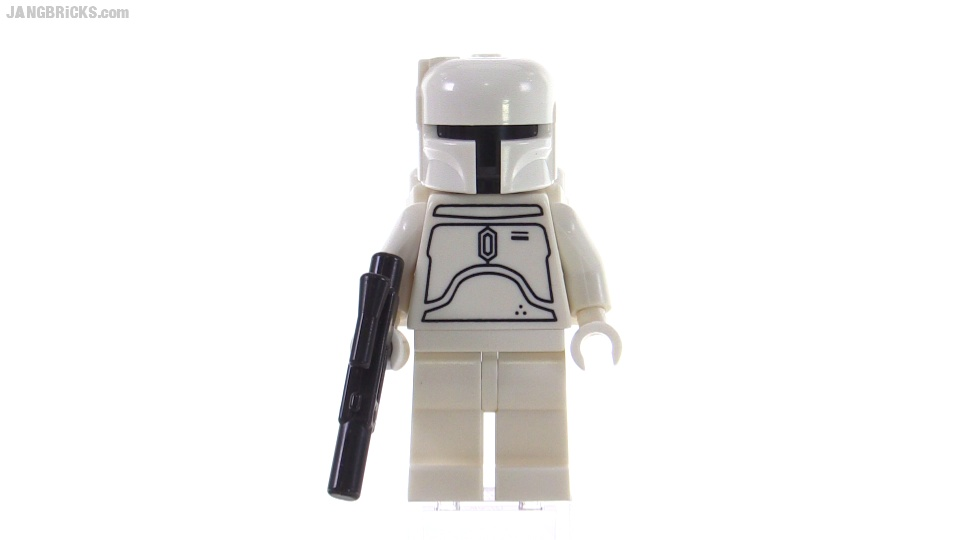 Lego Star Wars Limited Edition 2010 White Boba Fett Review