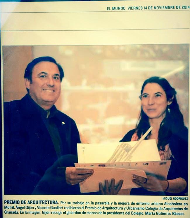 Gij n arquitectura blog entrega de premios colegio de - Colegio arquitectos granada ...