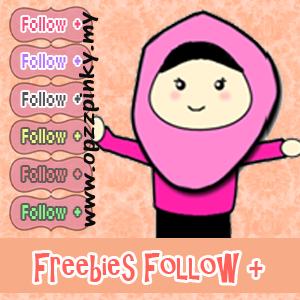 Freebies Button Follow Cute
