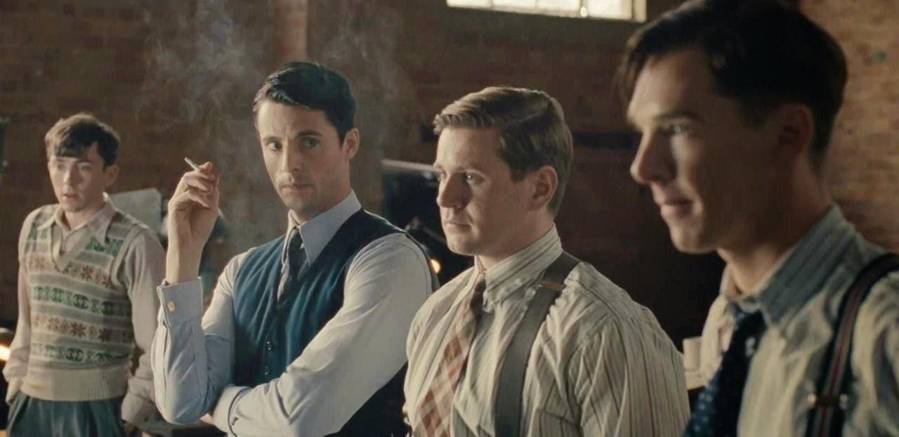 the imitation game-matthew beard-matthew goode-allen leech-benedict cumberbatch