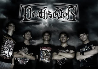 Death Sector Foto Logo Band Death Metal Jakarta Indonesia