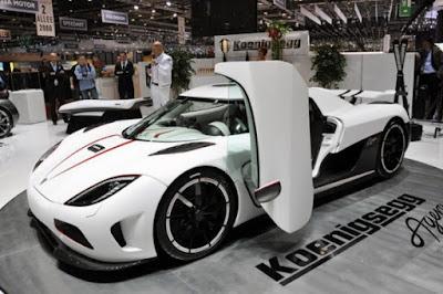 Koenigsegg Agera R in motor show