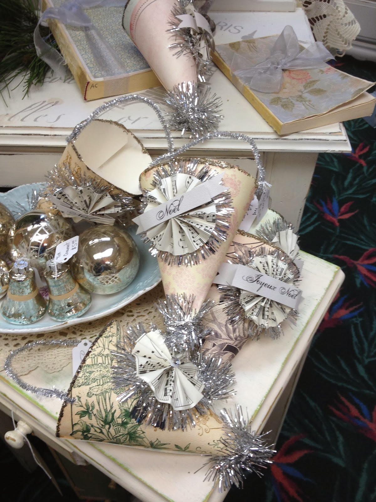 New Christmas Craft Ideas Part - 44: Christmas Craft Ideas: Vintage And New
