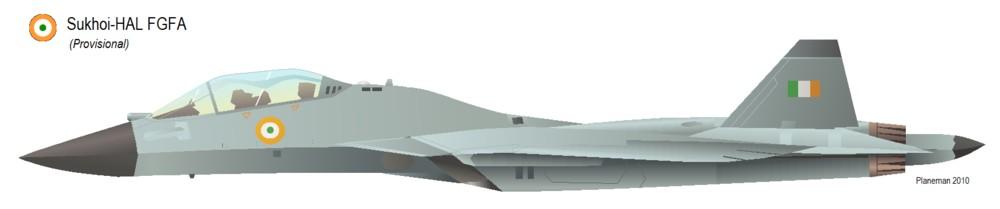 تجارب مقاتلة جديدة متعددة الأغراض في روسيا Indo-Russian+Fifth+generation+fighter+crosses+milestone+1