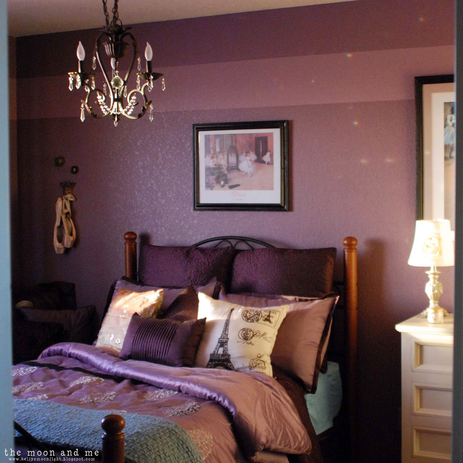 Plum Bedroom The Moon And Me Saras Purple Palace The Secret Project