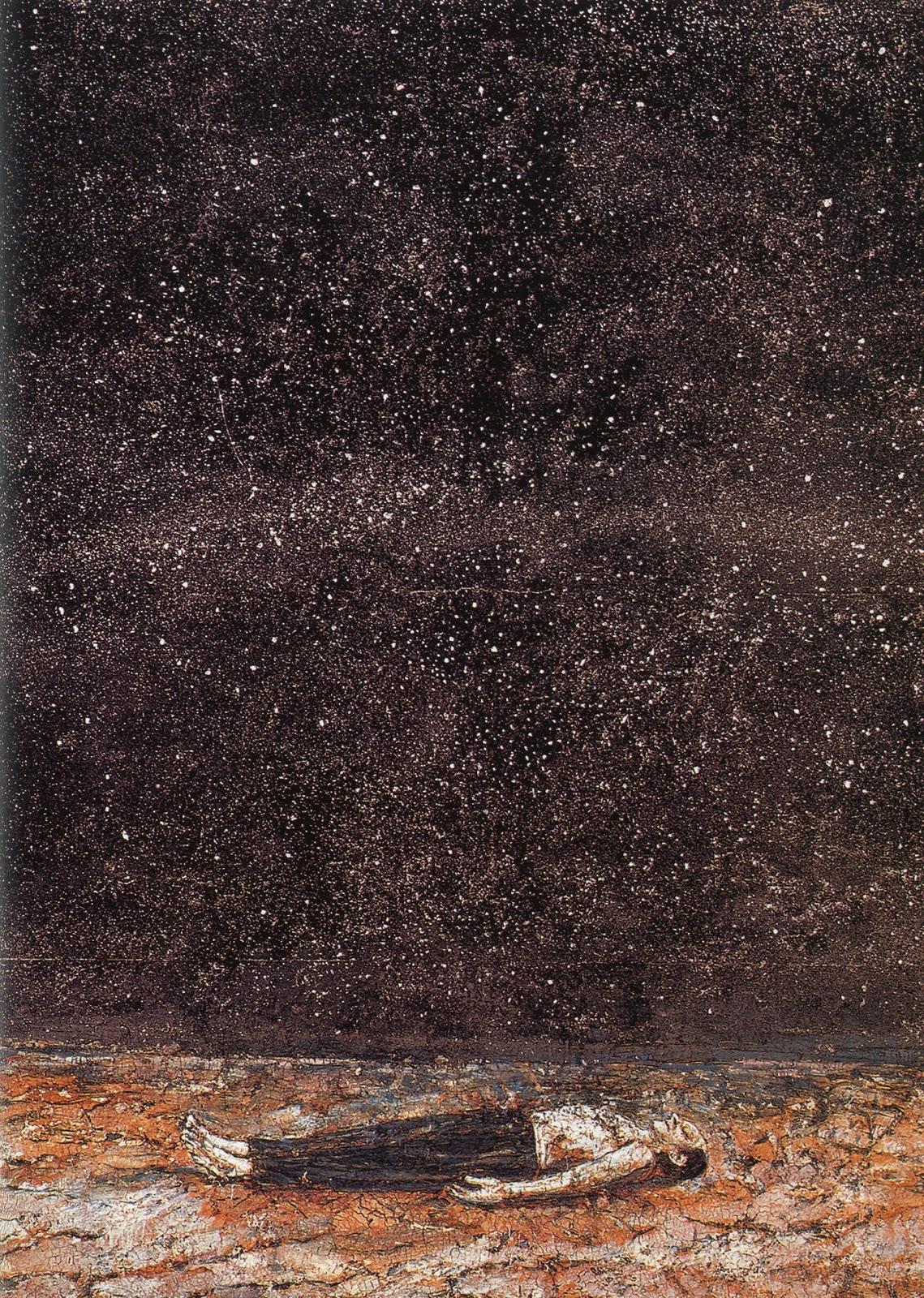 Las célebres órdenes de la noche. Ansalm Kiefer. Museo Guggenheim