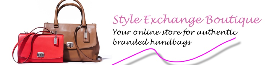 STYLE EXCHANGE ONLINE HANDBAGS SHOPPING FOR COACH, MARC JACOBS, COLE HAAN, AIGNER AND MORE!