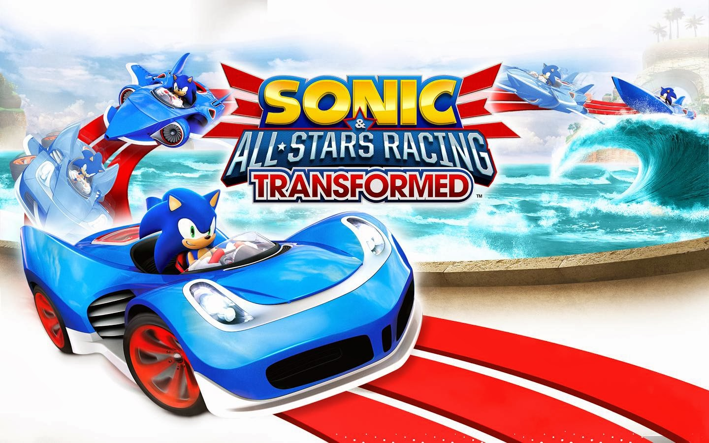 Sonic Racing Transformed Full APK + DATA Android Game HD
