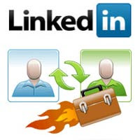 Linkedin profile for backlinks
