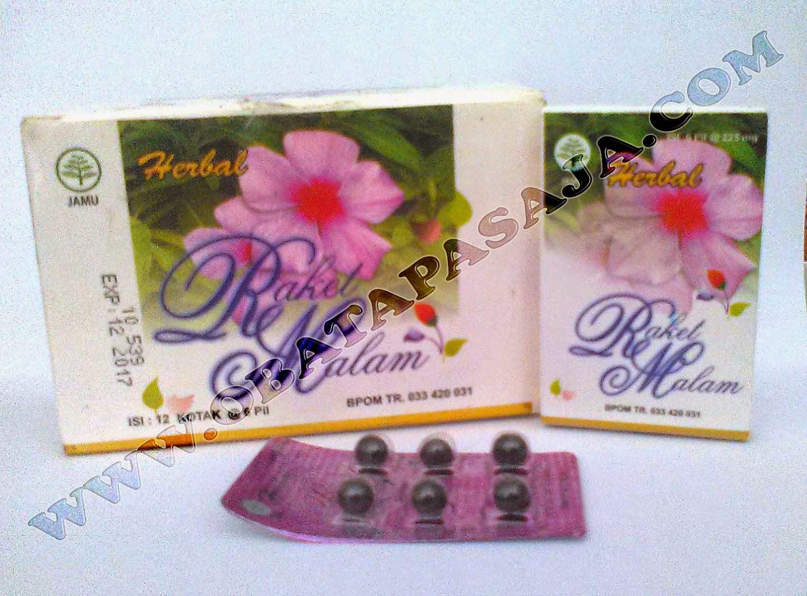Pil Raket Malam Herbal Khusus Untuk Wanita