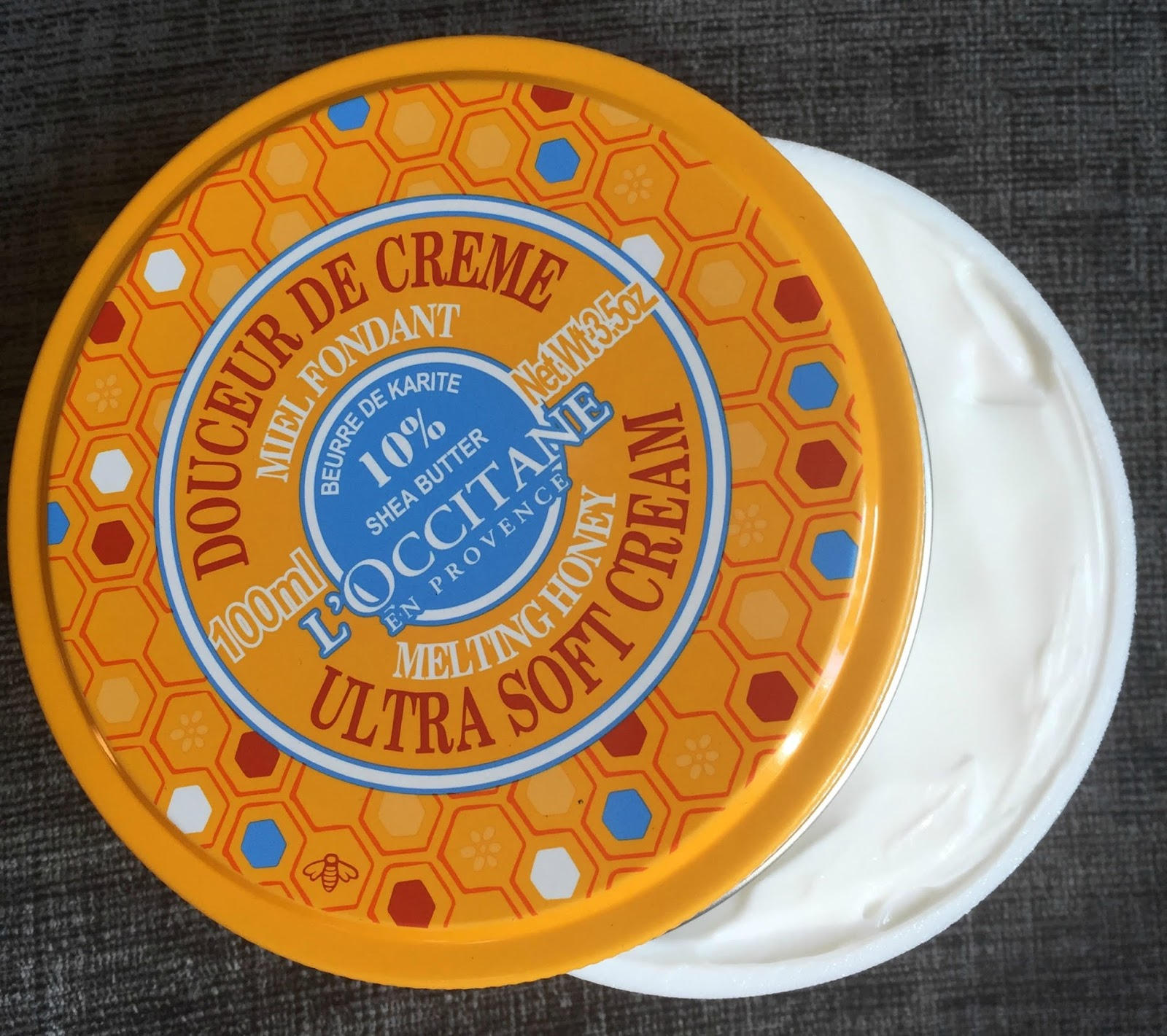 l'occitane melting honey ultra soft cream