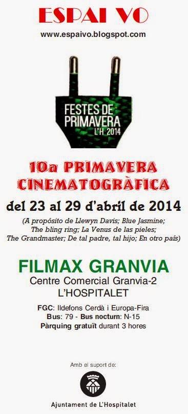 TOTA LA PROGRAMACIÓ DE LA 10a PRIMAVERA CINEMATOGRÀFICA