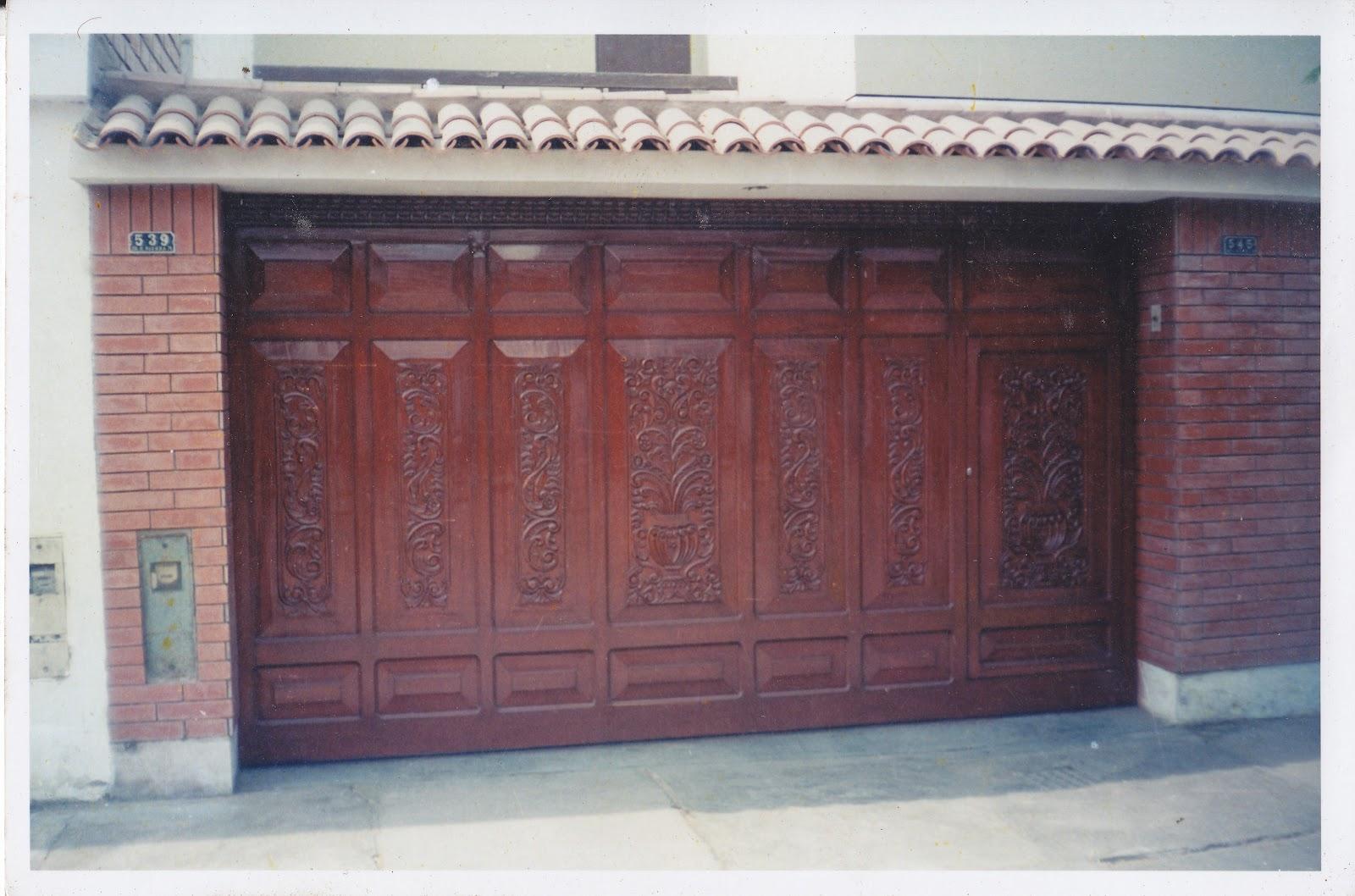 Puertas garaje o cochera fabrica de puertas blindadas - Puertas de cochera ...