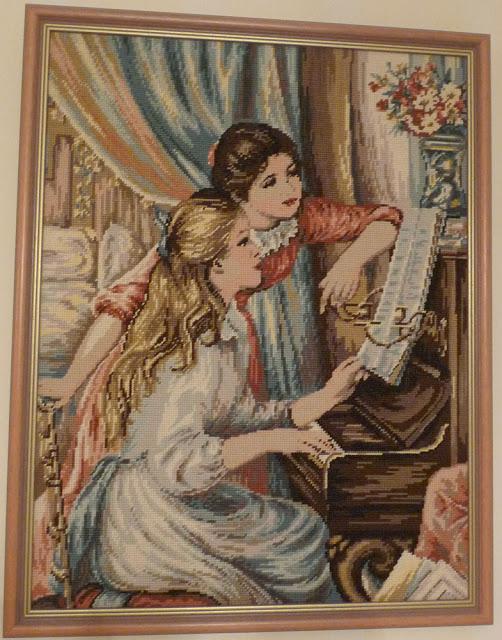 Les jeunes filles au Piano,Tapisserie
