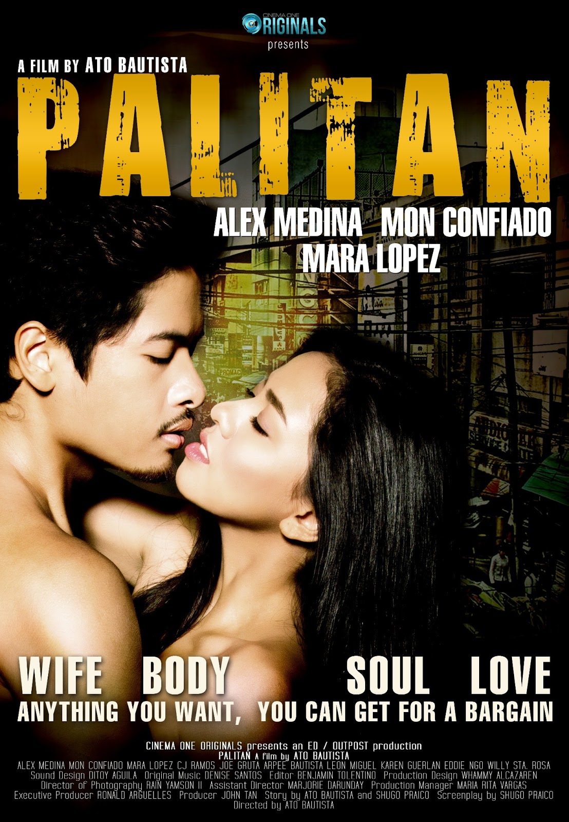 "... latest masterpiece, "" Palitan "" on Skycable PAY-PER-VIEW this July"