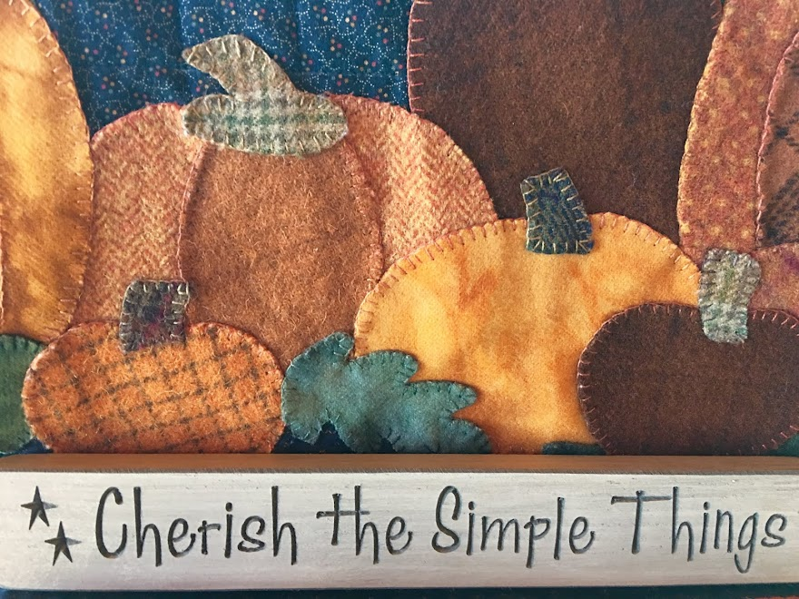 Cherish the simple things Fall