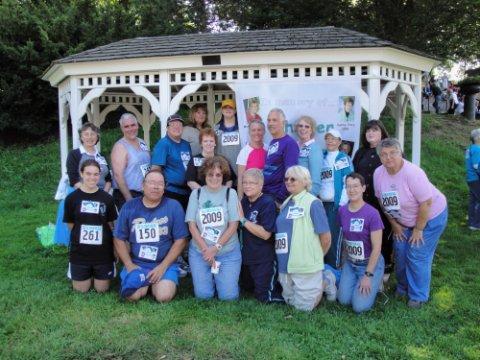 2009 teal ribbon run walk