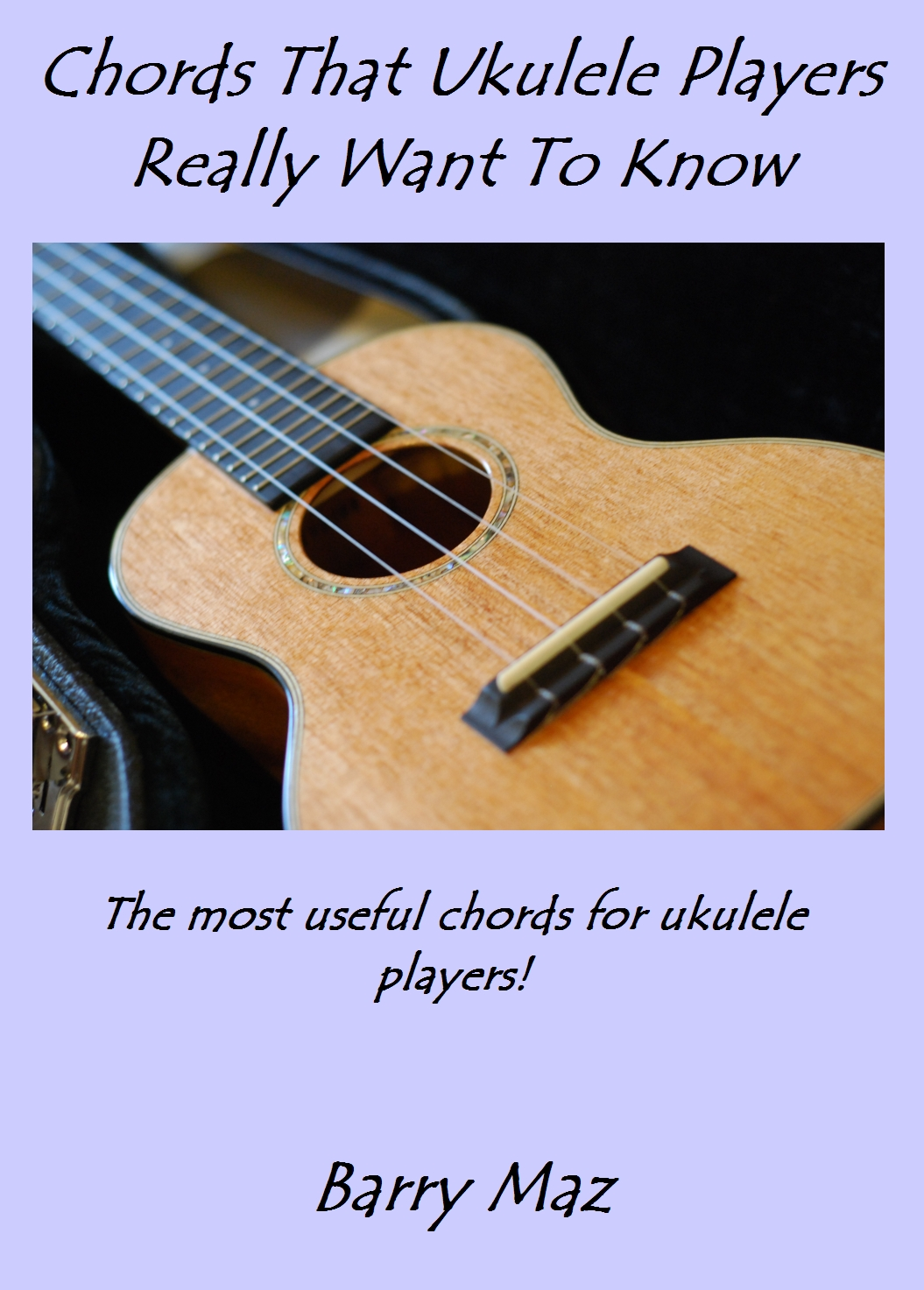 Chords for ukulele players - new ebook