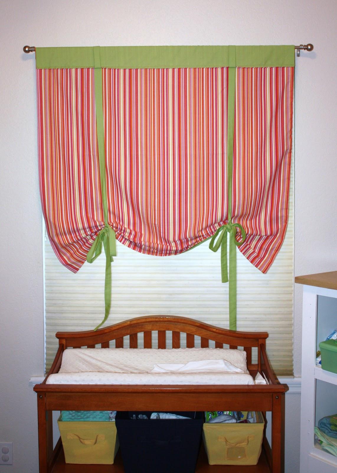 Custom Curtain From A Flat Sheet