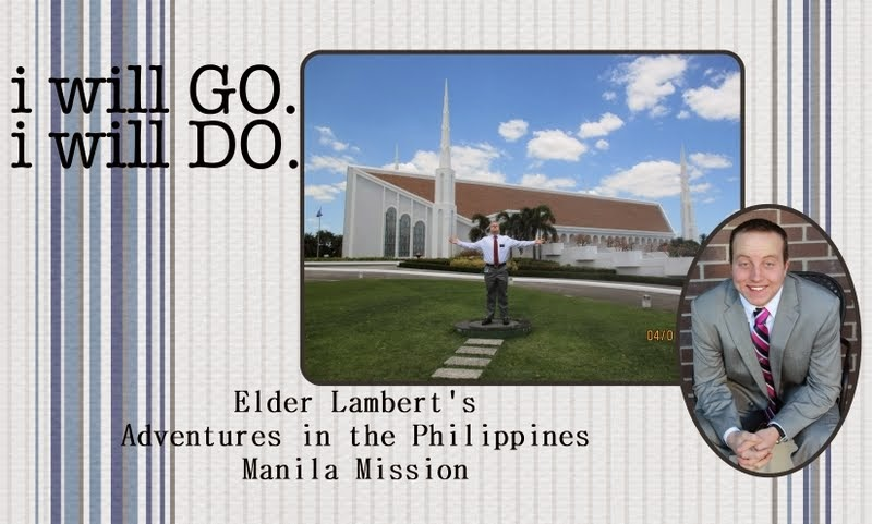 Elder Lambert's Adventures in the Philippines Manila Mission