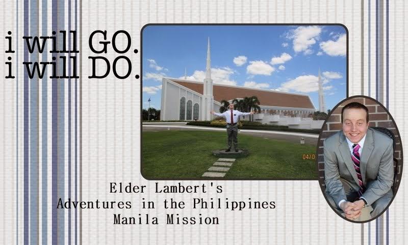 Elder Lambert's Adventures in the Philippines Manila Mission