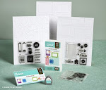 Hot Diggity!  Artbooking Cricut Cartridge is available exclusively from Close to My Heart