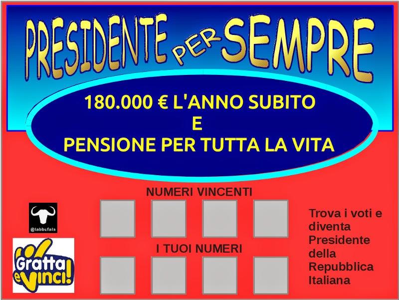 Napolitano, presidente della repubblica, successione, satira