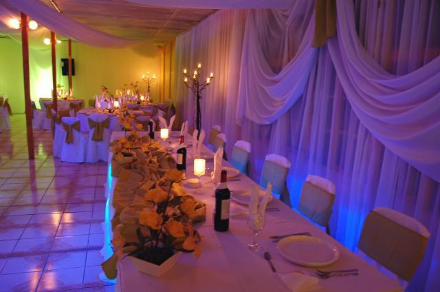 Abcmultiespacios alquiler de decoracion velos y telas for Decoracion de salon con telas y luces