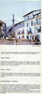 Folleto turistico de Candelario Salamanca del año 1970-3