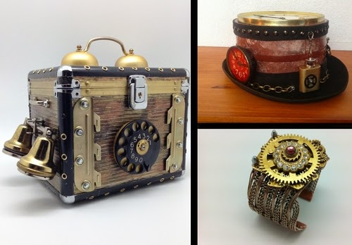00-Van Halen Co-Steampunk Sculptures Wonderland-www-designstack-co
