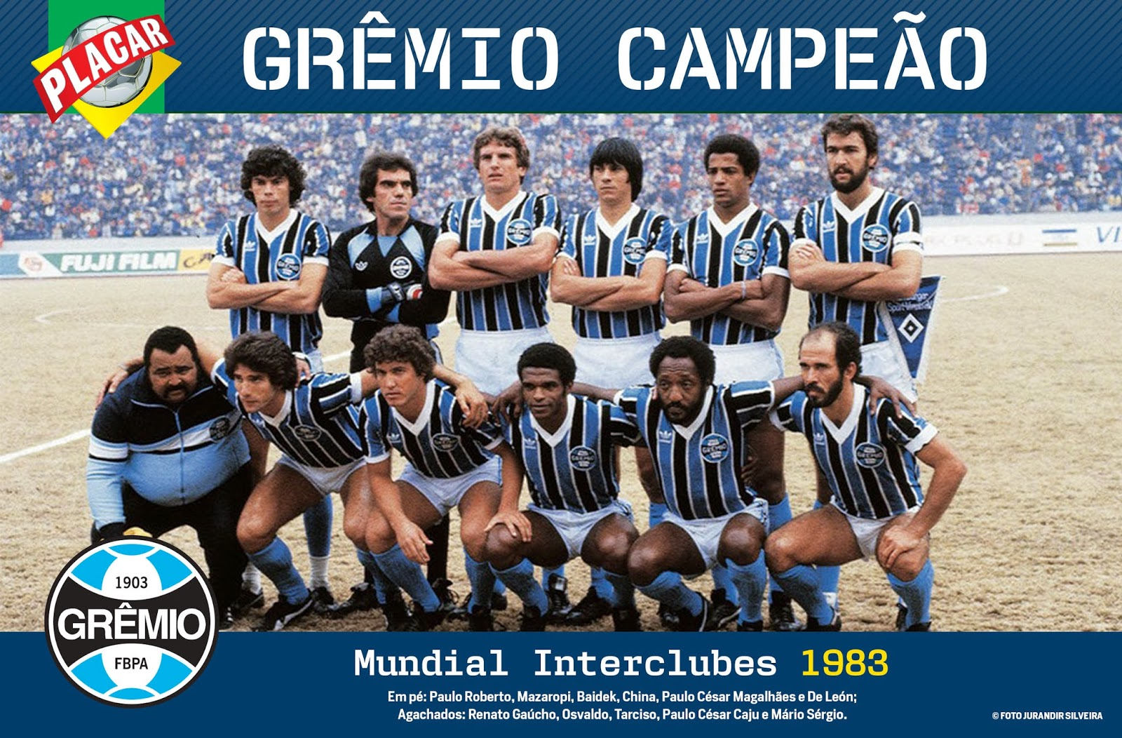 8fa0baa7b0 Há 30 anos  Grêmio Imortal Tricolor Gaúcho celebrava a conquista de campeão  mundial de clubes