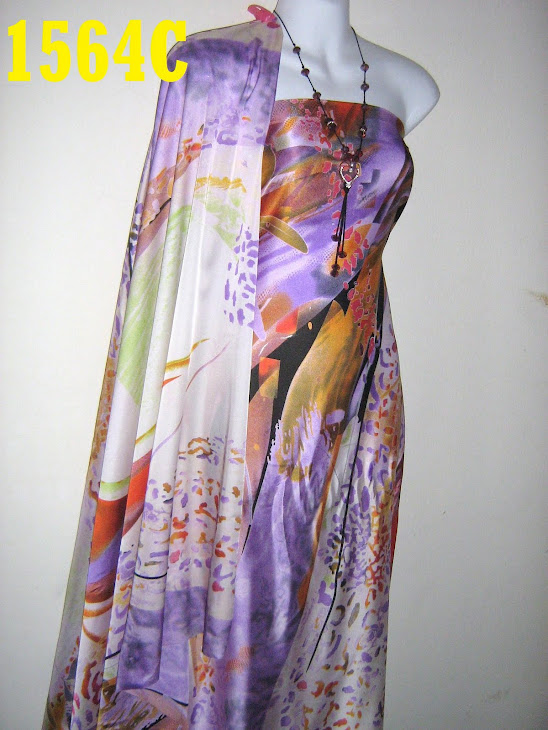 CV 1564C: CREPE VERONICA ITALIAN SILK, 4 METER, SGT CANTIK