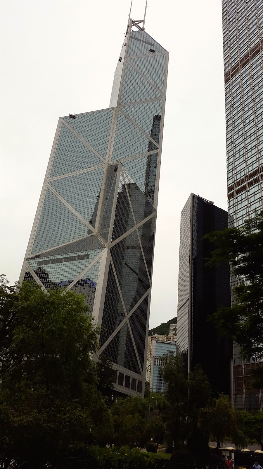 Central Hong Kong Skyscrapers