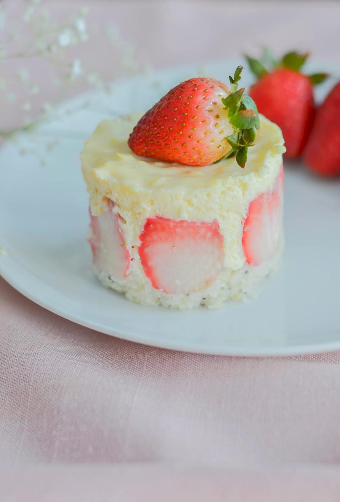 Lemon Poppy Seed Cake with Meyer Lemon Mousse - The Sunday ...