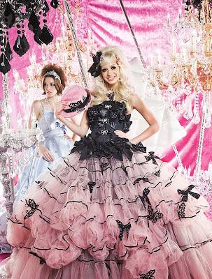 Peachy Girl Pink Wedding Dress 2011