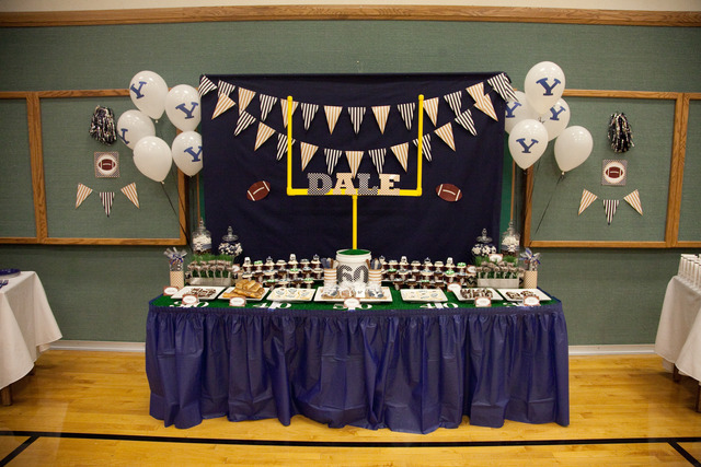 Birthday party football theme - Real madrid decorations ...