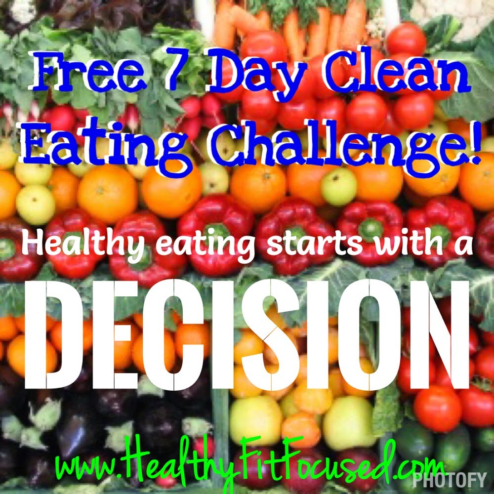 Free 7 day clean eating challenge