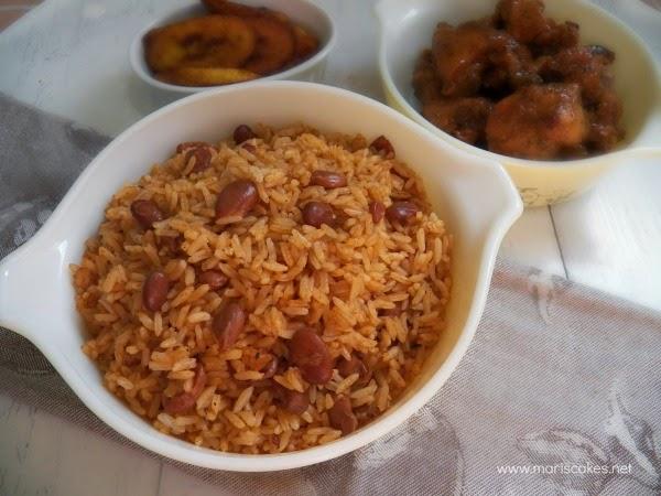 Moro rice and beans mari 39 s cakes english - Arroz con judias pintas ...