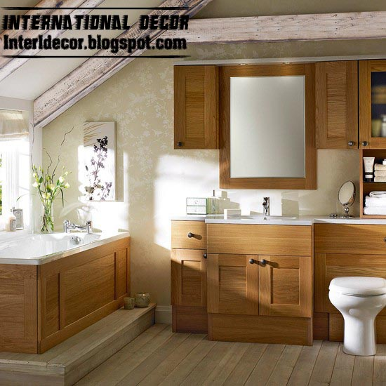 Lastest European Wooden Bathroom Furniture KL334  China Bathroom Furniture