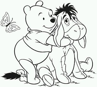 Banco de Imagenes y fotos gratis: Dibujos de Winnie Pooh para Pintar ...