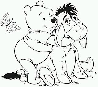 Dibujos de Winnie Pooh para Pintar, parte 8