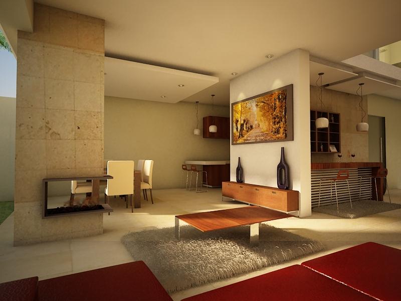 Proyectos arquitectonicos y dise o 3 d dise o interior - Diseno de casas 3d ...